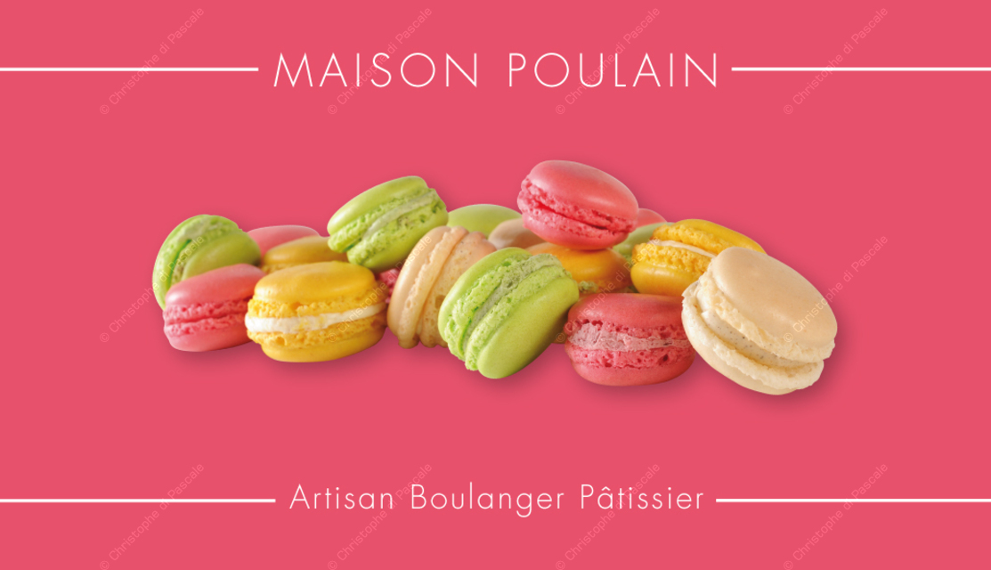 Boulangerie Patisserie Carte De Visite Personnalisee Suivant Charte Graphique Macarons